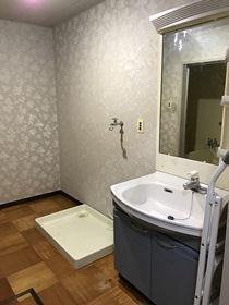 とよはるサンハイツB棟 503号室の洗面所