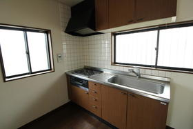 ノースタウン浦和B 204号室のキッチン