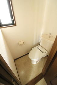 ノースタウン浦和B 204号室のトイレ