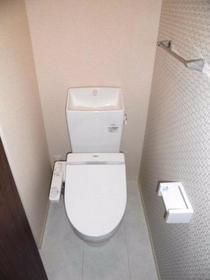 ペイサージュ箕田 102号室のトイレ