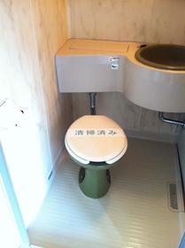 シティハイム向陽 R 101号室のトイレ