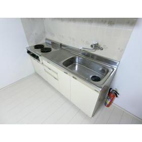 モトマチコア 102号室のキッチン