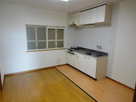 ブルックハウス C-101号室のキッチン