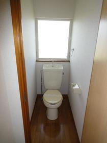 ブルックハウス C-101号室のトイレ