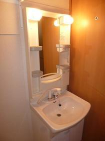アルシュ 202号室の洗面所