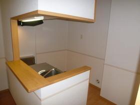 アルシュ 202号室のキッチン