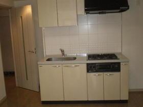 デュオ・スカーラ渋谷 405号室のキッチン