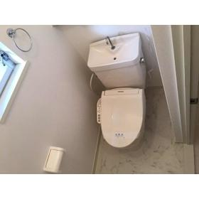 エステートピア伊奈 203号室のトイレ