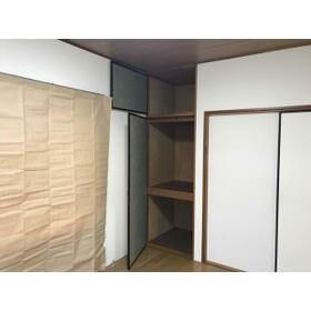パールハイツC 101号室の収納