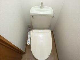 メゾン・ボナール 206号室のトイレ
