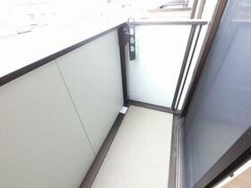D-room思川ルージュ A 206号室のバルコニー