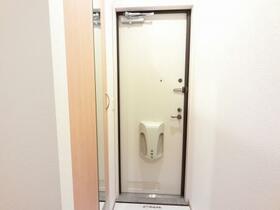 D-room思川オランジュ B 207号室の玄関