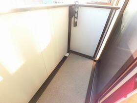 D-room思川オランジュ B 207号室のバルコニー