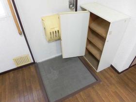 久喜ハイツ 202号室の玄関