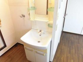 久喜ハイツ 202号室の洗面所
