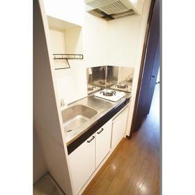 Studio・M 201号室のキッチン