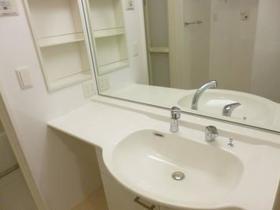 グラシューズ市川 102号室の洗面所