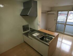 コスモス 202号室のキッチン