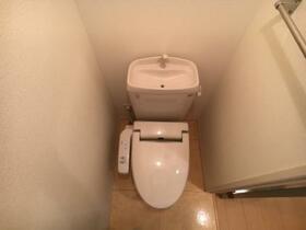 コスモス 202号室のトイレ
