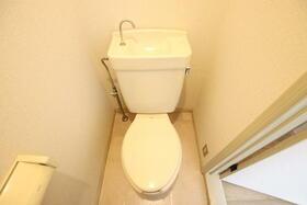 ディアディアA 203号室のトイレ