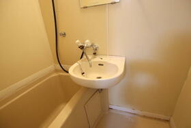 ディアディアA 203号室の洗面所