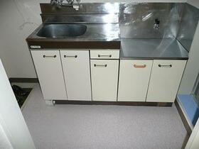 北都レジデンス 202号室のキッチン