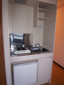 宮町マンション 402号室のキッチン