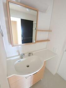 メゾン マルシェ A 102号室の洗面所