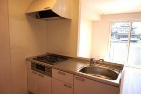 セジュールウィット 102号室のキッチン