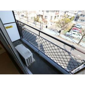 杉崎ビル 305号室のバルコニー