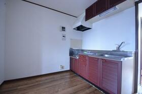 グランハイム大塚 A棟 202号室のキッチン