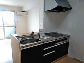 リアン 202号室のキッチン