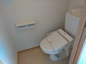 リアン 202号室のトイレ