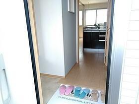 リアン 202号室の玄関