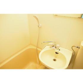 ドミ西片 13号室の洗面所