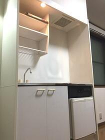 アカネコーポ 201号室のキッチン