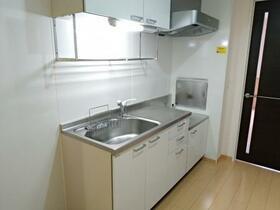 アネシス城北 B 203号室のキッチン