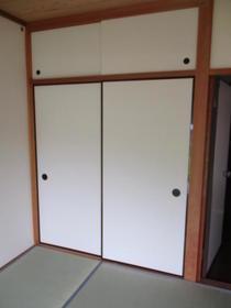 グリーンフィールド石阪B棟 102号室の収納