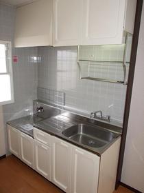 昴Ⅱ 205号室のキッチン