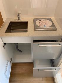 ペアシティ品川 211号室のキッチン