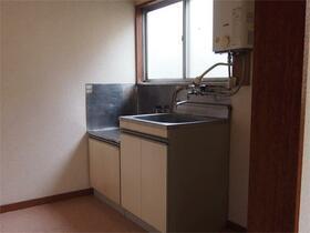中野サンハイツ 101号室のキッチン