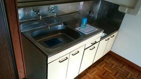 高石コーポ 2C号室のキッチン