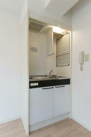 カスガヒルズ 201号室のキッチン