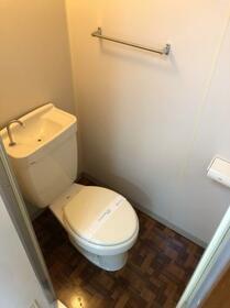 アルビヨン 0303号室のトイレ