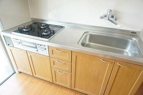 矢野口住宅 109号室のキッチン