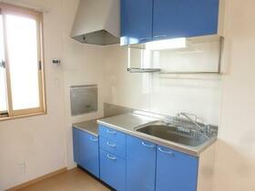 ラピス・スクェア D102号室のキッチン