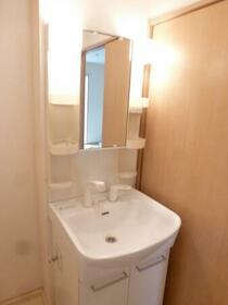 ラピス・スクェア D102号室の洗面所
