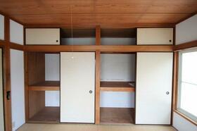 関山荘 201号室の収納