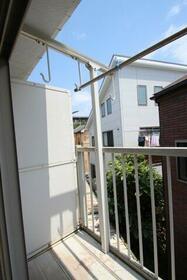 関山荘 201号室のバルコニー