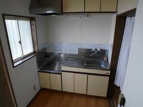 オクトハウス 102号室のキッチン